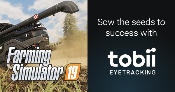 Farming Simulator 19 + Eye Tracking | Tobii Gaming
